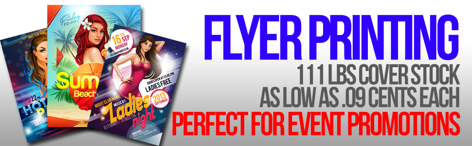 Flyer Printing in Calgary | Creative Factor Inc