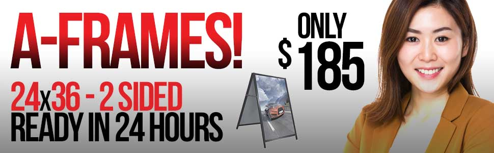 A-FRAMES – SANDWICH BOARDS – $185 Calgary **